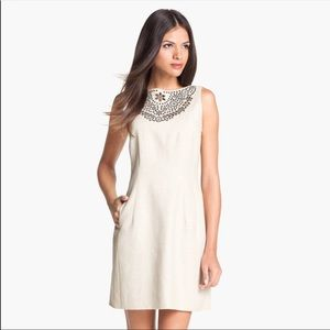 NWT Kate Spade Dress Domino Embroidered Shift 10